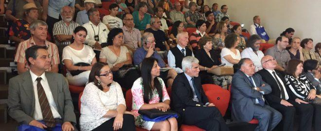 Seremi Educación en inicio de Congreso Futuro en Biblioteca Regional.